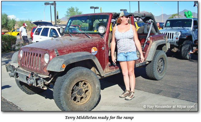 owner Terry Middleton with her car