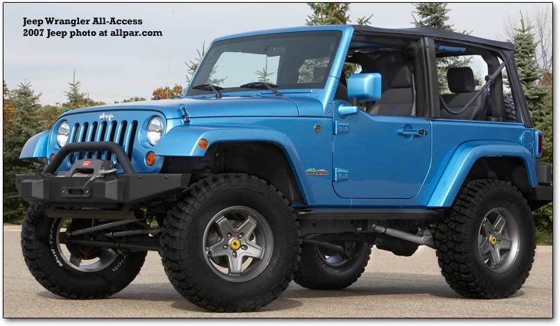 jeep wrangler all-access