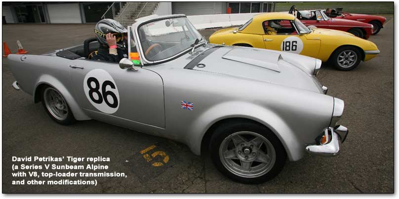 Sunbeam Alpine Tiger replica