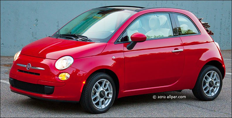 2012 Fiat 500 Lounge Automatic Car Review
