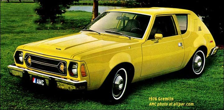 The Gremlin: AMC's Oddly Named, Oddly Styled, Oddly Successful Compact