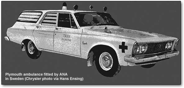 ANA Swedish ambulance