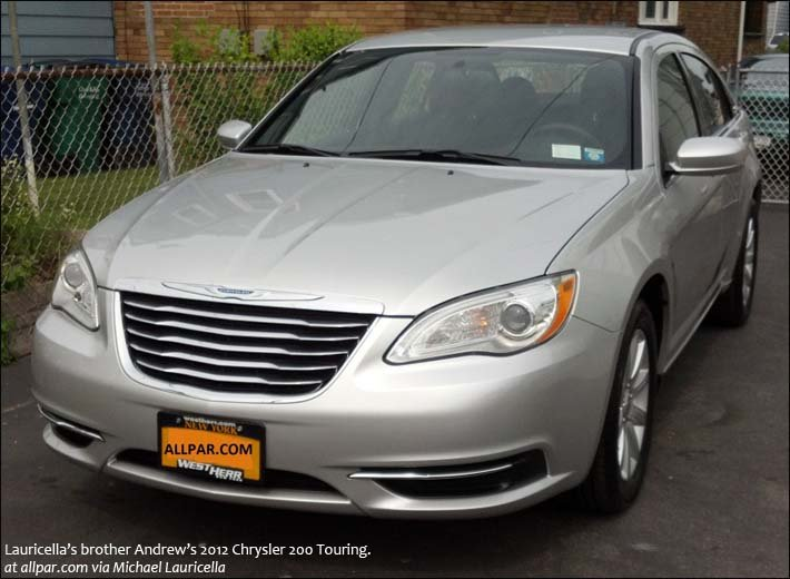 brother Andrew's 2012 Chrysler 200 Touring