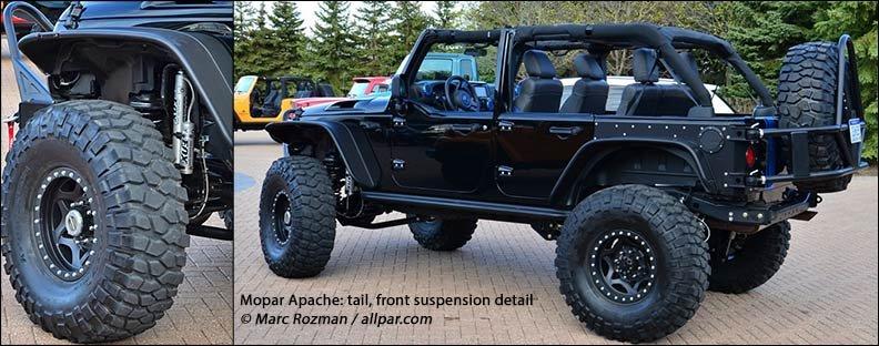 2012 Jeep Wrangler Apache Hot Hemi Wrangler Concept Car