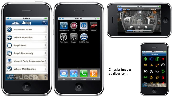 Chrysler apps