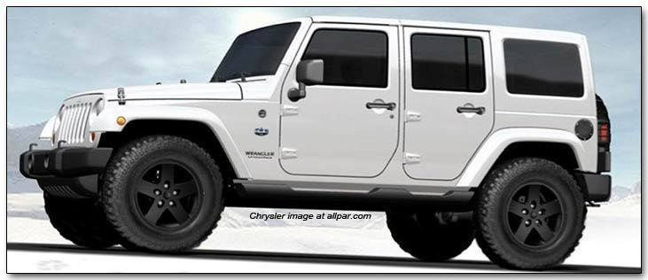 2012 jeep wrangler and liberty arctic edition. Black Bedroom Furniture Sets. Home Design Ideas