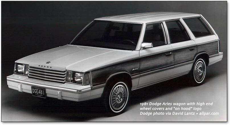 1981 dodge aries wagon