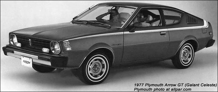 1977 Plymouth Arrow GT