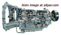 Aisin transmissions used by Jeep and Ram trucks: AW-4