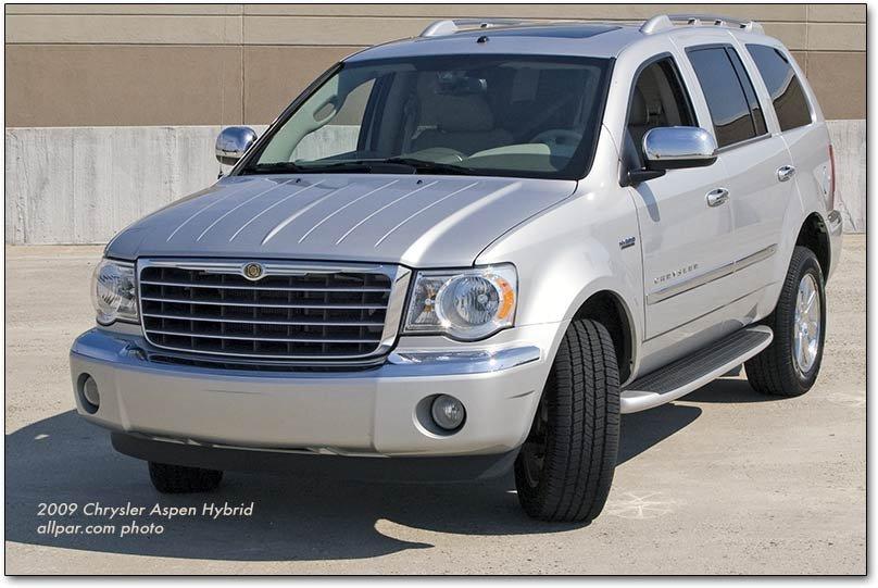 Chrysler Aspen The Upscale Suv