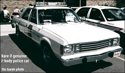 History of Mopar squads (Chrysler, Plymouth, and Dodge police cars)