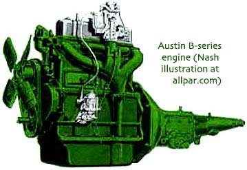 Austin B-series engine