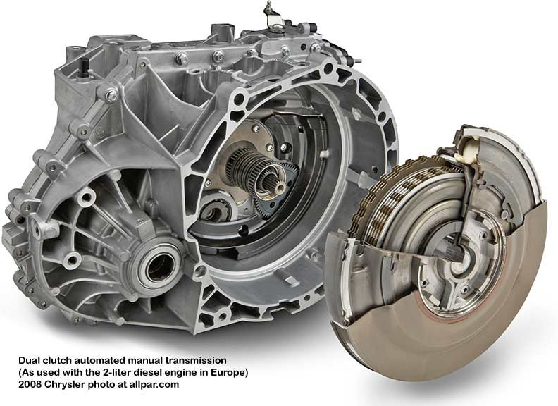chrysler dual clutch automatic