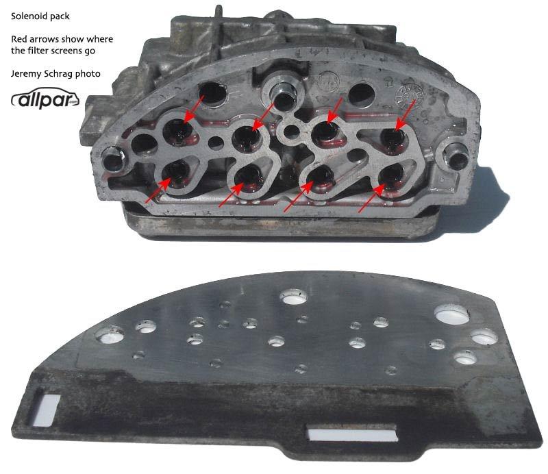 Chrysler Automatic Transmission Repair Solenoid Pack Rebuilding