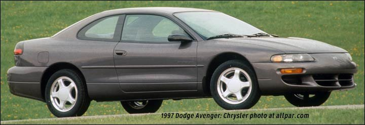 1997 dodge avenger coupe