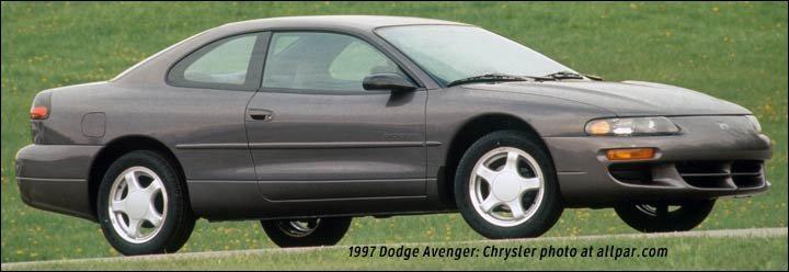 Avenger on Chrysler Sebring Logo