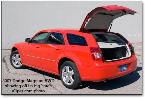 Awd Hatch on 2006 Dodge Magnum Center Console
