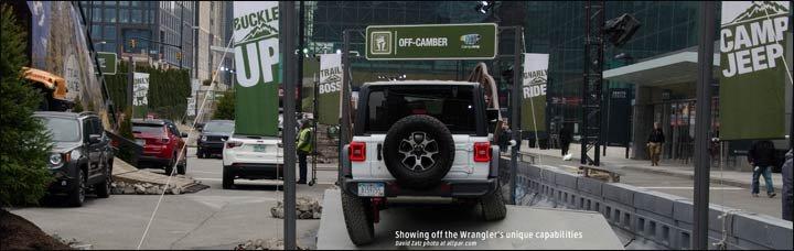 camp jeep - axle