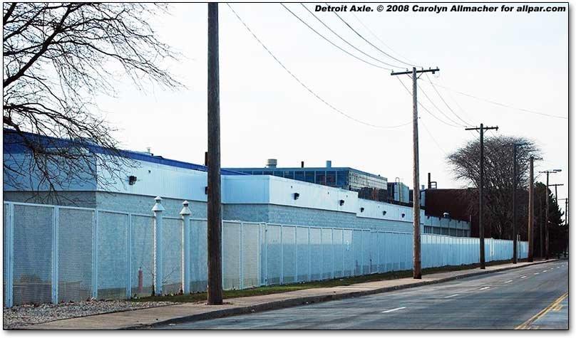 Chrysler's Detroit Axle Plant