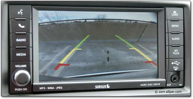 Caravan on wireless car backup camera systems