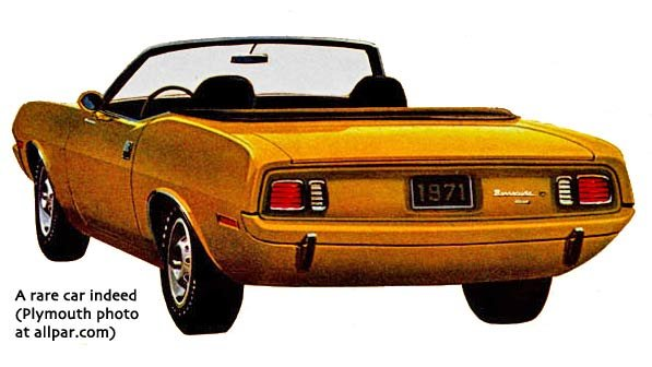Barracuda convertible