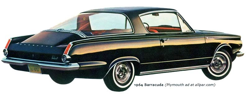 Chrysler barracuda 1964