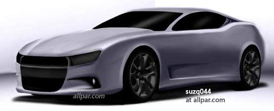 2019 Dodge Barracuda the rumored muscle car
