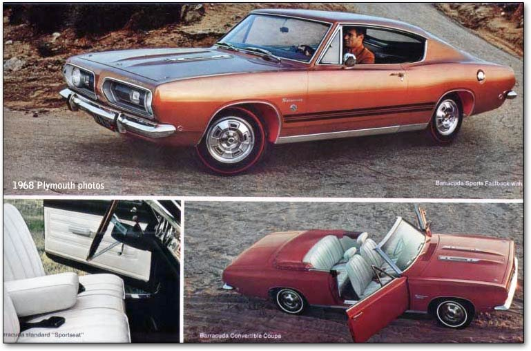 Plymouth Barracuda  the early sporty Eurostyle cars