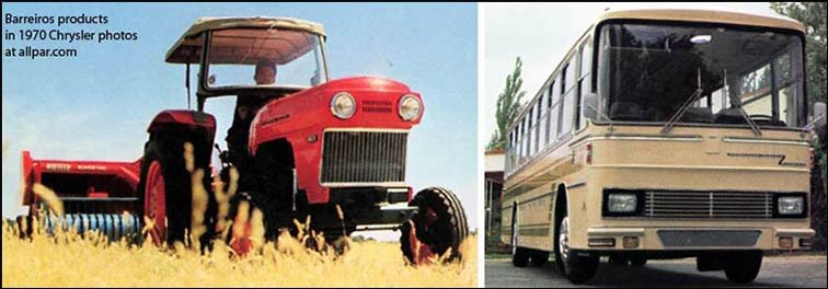 barreiros tractor and bus