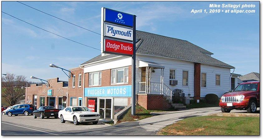 Chrysler Dodge Plymouth dealership dealer