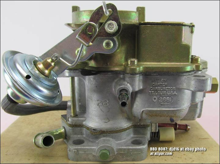 BBD 8087 carburetor for slant sixes