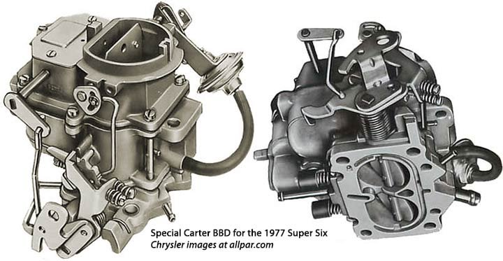 1977 BBD carburetors