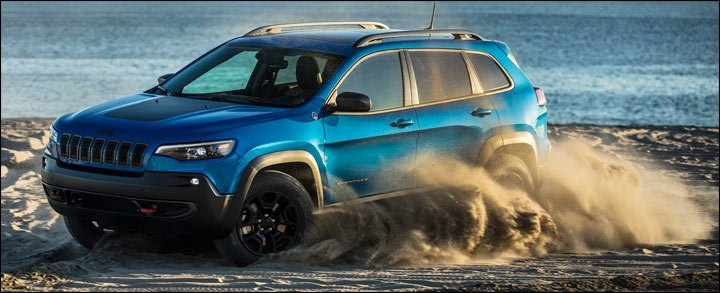 2019 cherokee on the beach