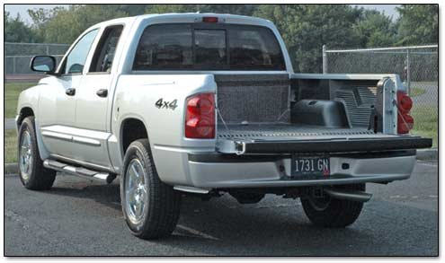 dodge dakota rear