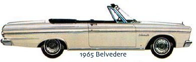 belvedere convertible