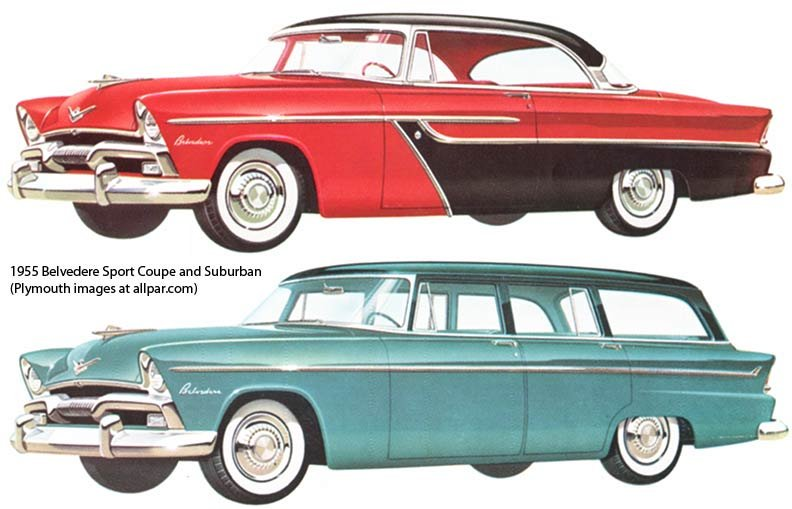 Plymouth Belvedere cars