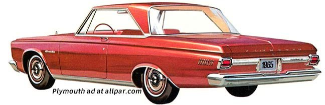 Chrysler Corporation Cars of 1965: On the Upswing