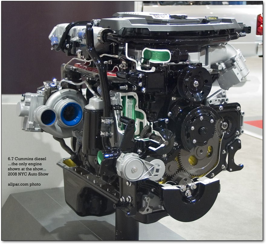 big cummins engine