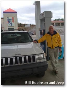 Bill Robinson and 500,000 mile Jeep