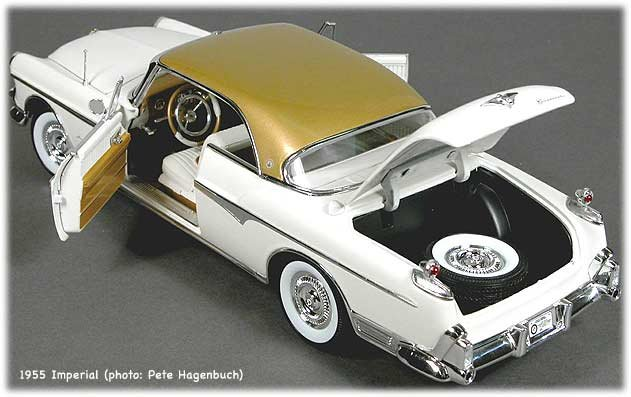 Ertle Plymouth Road Runner Superbird model top view