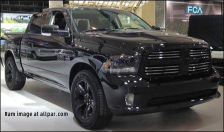 Jeep Wagoneer 2018 >> News: Ram's Black Sport / Black Ram 1500 Express