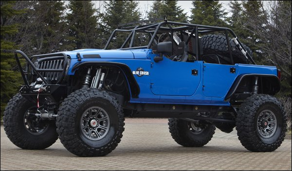 2011 moab easter jeep safari concept cars and new pickup kit