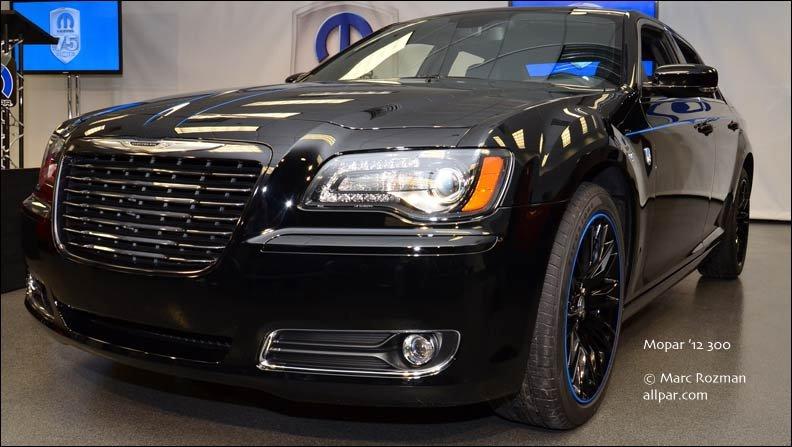 12 Mopar 300 Cars Mopar Branded Chryslers