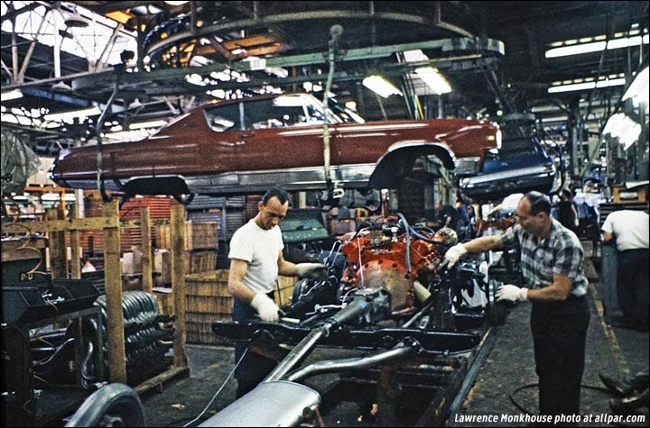 Ontario Truck Parts >> Making 1967 cars at Chrysler's Windsor Car Assembly Plant (WCAP)