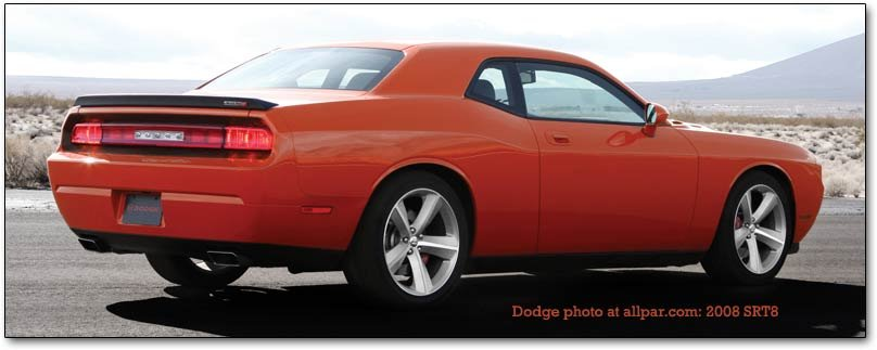 2008 2010 Dodge Challenger Srt8 And 2009 11 Challenger R