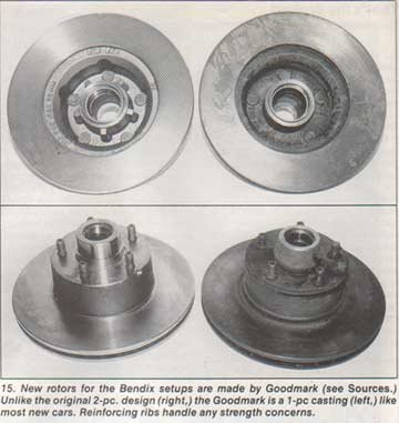 Restoring and tweaking 4-piston disc brakes