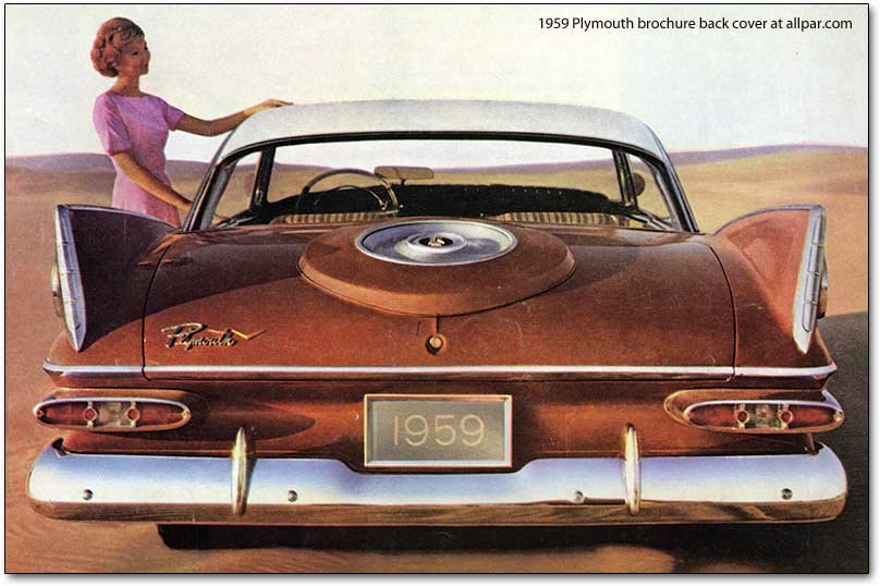 1959 Plymouth brochure