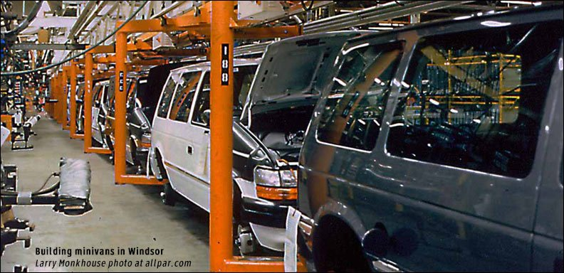 building 1991 minivans