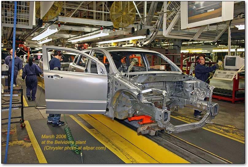 Chrysler plant belvidere