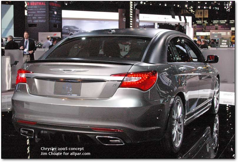 Chrysler At The Chicago Auto Show 2011